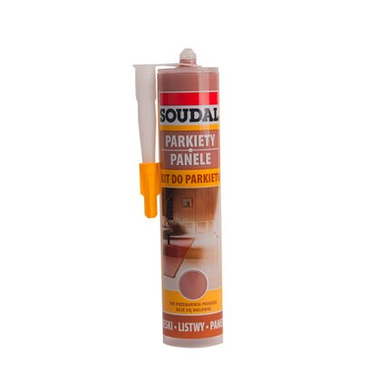 Soudal Kit do parkietu, kolor mahoń, opak. 300 ml