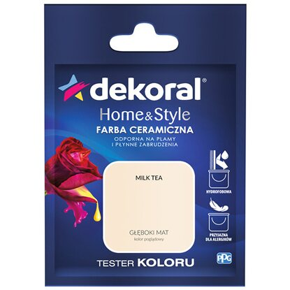 Dekoral Tester koloru Home & Style milk tea 30 ml