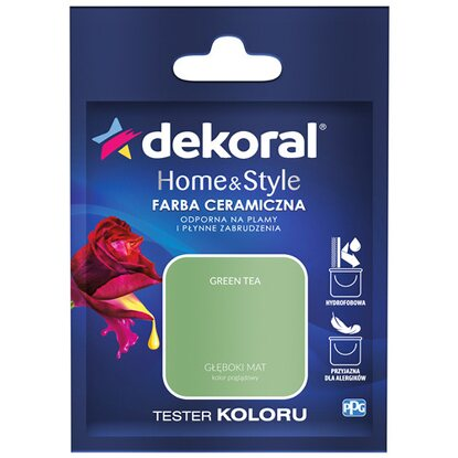 Dekoral Tester koloru Home & Style green tea 30 ml