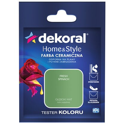 Dekoral Tester koloru Home & Style fresh spinach 30 ml
