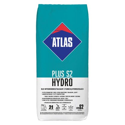 Atlas Klej do płytek Hydro Plus S2 15 kg