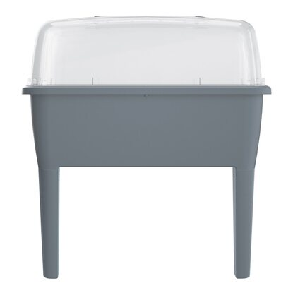 Prosperplast Mini szklarnia RESPANA szary 82x77x38