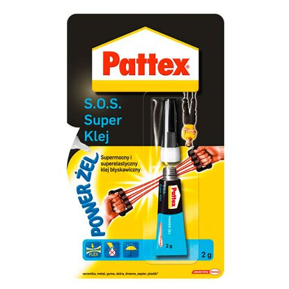 Pattex Klej S.O.S. Super Power Żel 2 g