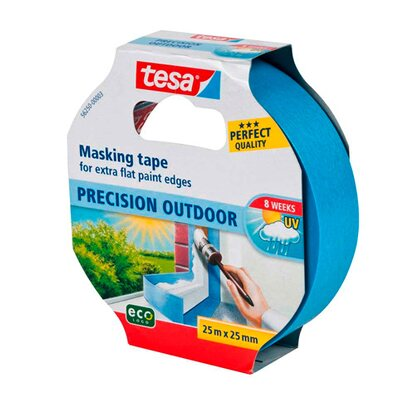 Tesa Taśma maskująca Precision Outdoor 25 m x 25 mm