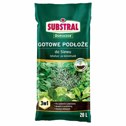 Substral Ziemia do siewu 20 l