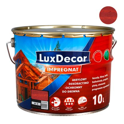 LuxDecor Impregnat do drewna mahoń 10 l