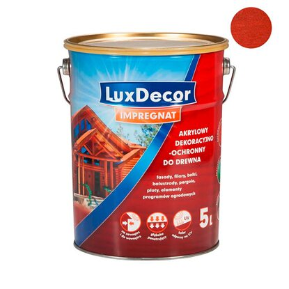 LuxDecor Impregnat do drewna cedr 5 l