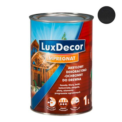 LuxDecor Impregnat do drewna heban 1 l
