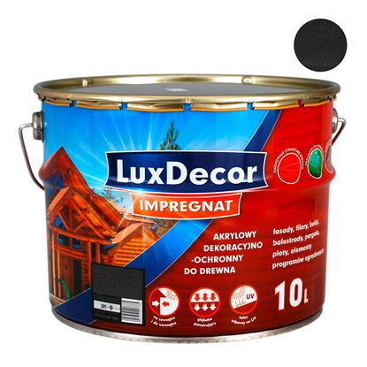 LuxDecor Impregnat do drewna heban 10 l