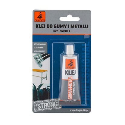 Dragon Klej do gumy i metalu blister 25 ml