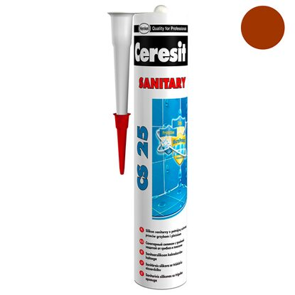 Ceresit Silikon sanitarny CS 25 52 cocoa 280 ml