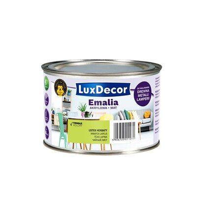 4cabbc8ef70084 LuxDecor Emalia akrylowa do drewna i metalu mat listek herbaty 400 ...