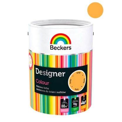 Beckers Emulsja lateksowa Designer honey 5 l