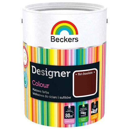 Beckers Emulsja lateksowa Designer hot chocolate 5 l