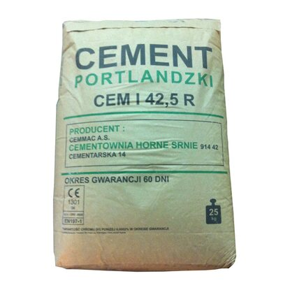 Cement CEM I 42,5R 25 kg