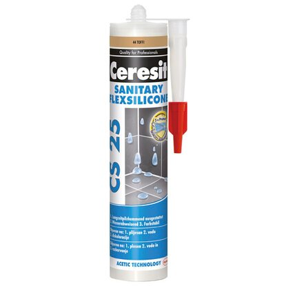Ceresit Silikon sanitarny CS 25 44 toffi 280 ml