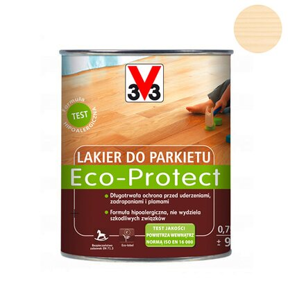 V33 Lakier do parkietu ECO-Protect bezbarwny mat 750 ml