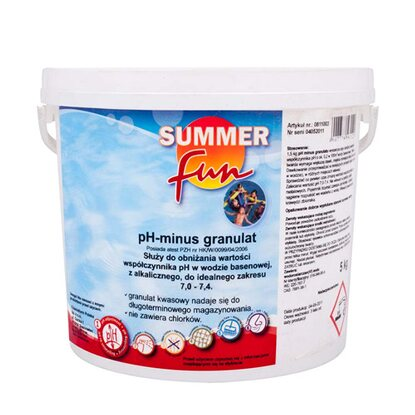 Summer Fun PH Plus granulat 3 kg