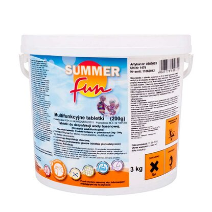 Summer Fun Chemochlor T multitabletki 200 g 3 kg