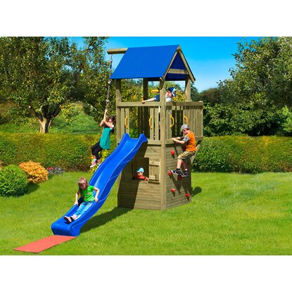 Zestaw Multi-Play Black Hawk 435 cm x 185 cm x 350 cm