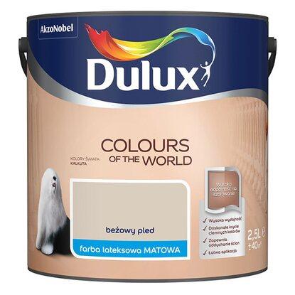Dulux Emulsja Kolory Świata beżowy pled 2,5 l