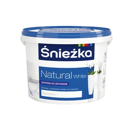 Śnieżka Emulsja Natural White 10 l