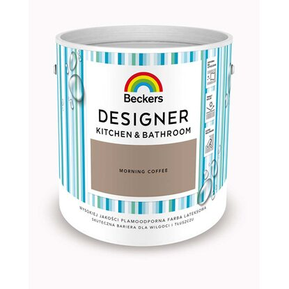 Beckers Emulsja Designer Kitchen&Bathroom Morning Coffee 2,5 l