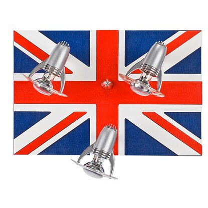 Nowodvorski Plafon London Flag 3x40 W E14