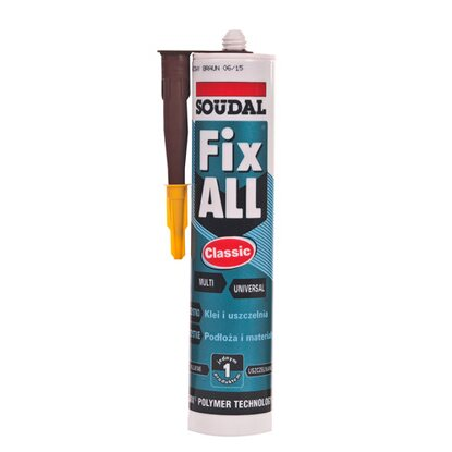 Soudal Klej Fix All Classic 290 ml brązowy