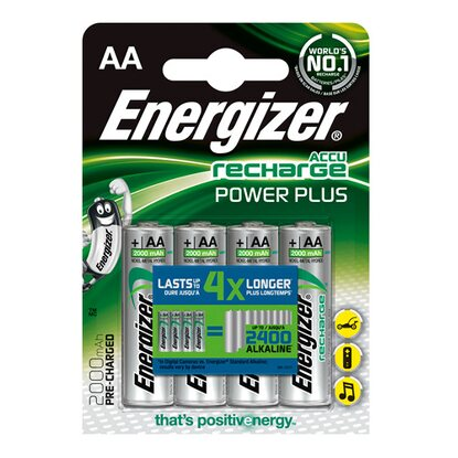 Energizer Akumulatorki R6/AA Power Plus 2000 mAh 4 sztuki