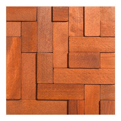 Stones Panel dekoracyjny Cube Wood Collection 34,5 cm x 34,5 cm