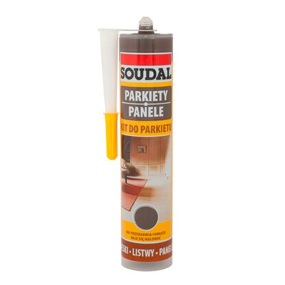 Soudal Kit do parkietu, kolor wenge, opak. 300 ml