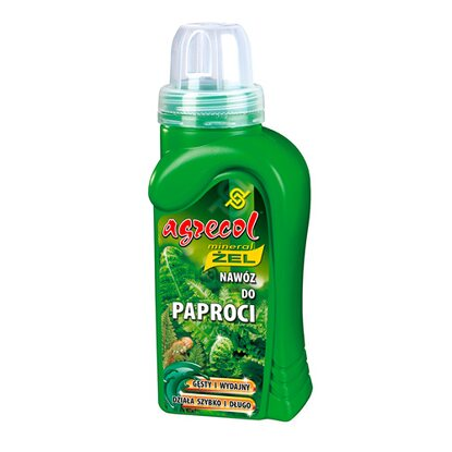 Agrecol Nawóz mineral żel do paproci 250 ml