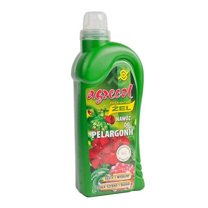 Agrecol Nawóz mineral żel do pelargonii 1 l