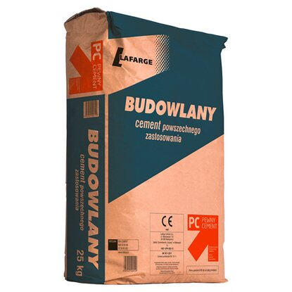 LaFarge Cement Budowlany 32,5 R 25 kg (K)