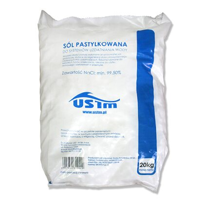 Aqua Filter Sól tabletkowana 20 kg
