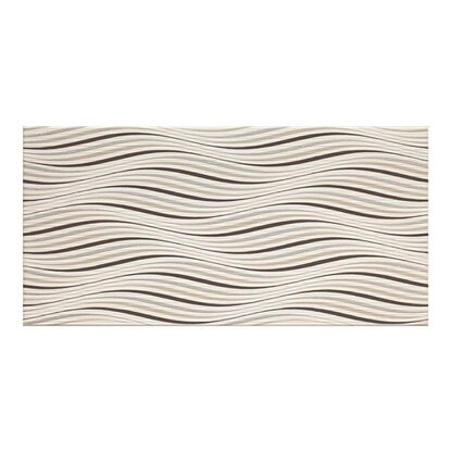 Cersanit Dekor Maris white big waves 29,7 cm x 60 cm