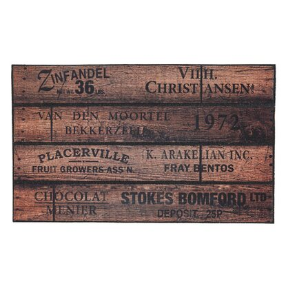 Wycieraczka Exclusive Home wood crate 45 cm x 75 cm
