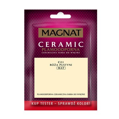 Magnat Ceramic Tester do malowania róża pustyni 30 ml