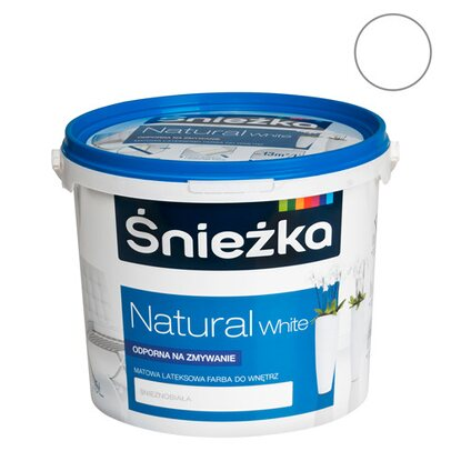 Śnieżka Emulsja Natural White 5 l