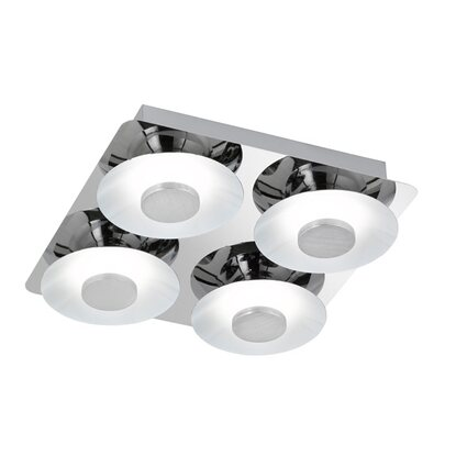Wofi Plafon Space 4x6W LED