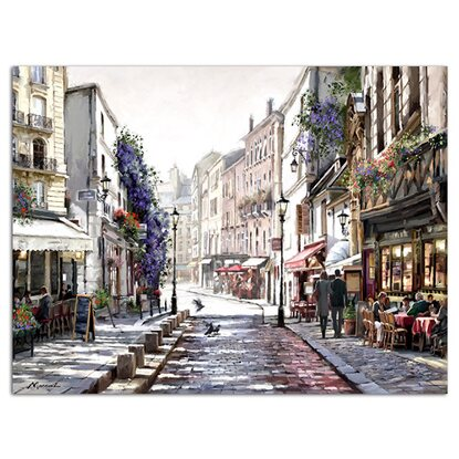 Styler Obraz Canvas Watercolor ST243 Paris 60 cm x 80 cm