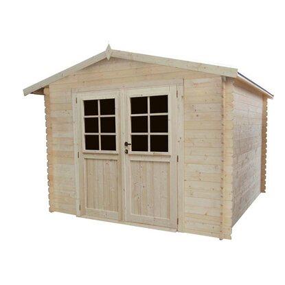 Werth-holz Domek ogrodowy 298 cm x 298 cm wys.: 218 cm ścianka 28 mm