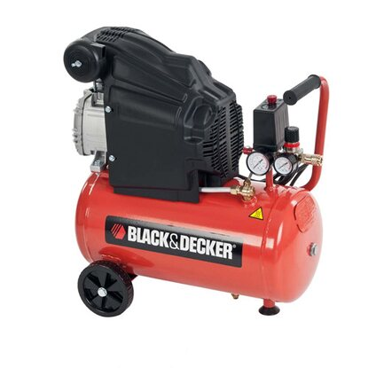Black+Decker Kompresor olejowy 24 l 8 bar