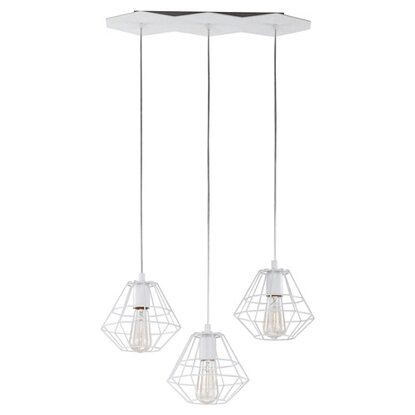 TK Lighting Lampa wisząca Diamond 3x60 W E27