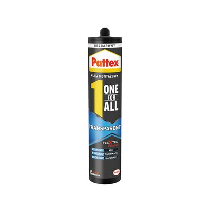Pattex klej One4All Transparent 290g