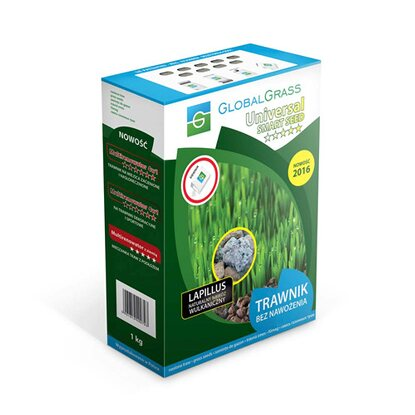 Global Grass Mieszanka traw Universal smart seed 1 kg