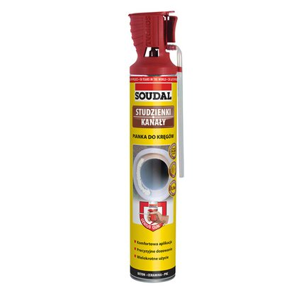 Soudal Pianka do kręgów Genius Gun 750 ml