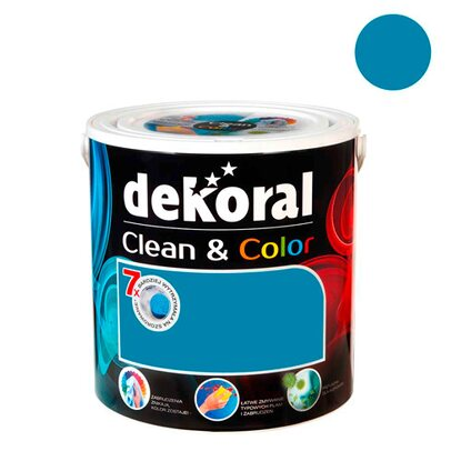 Dekoral Emulsja Clean & Color blue velvet 2,5 l