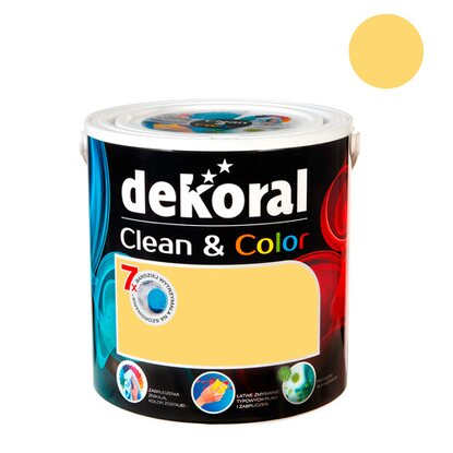 Dekoral Emulsja Clean & Color cytrusowa energia 2,5 l